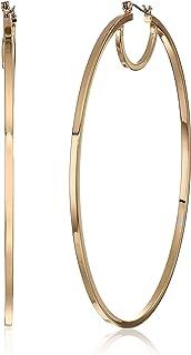 GUESS Women's Hoop Gold Earrings, One Size