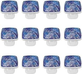 Boutons D'armoire 12 Pcs Poignés Poignée De Champignons Porte Poignées avec Vis pour Cabinet Tiroir Cuisine,Capteur de rêv...