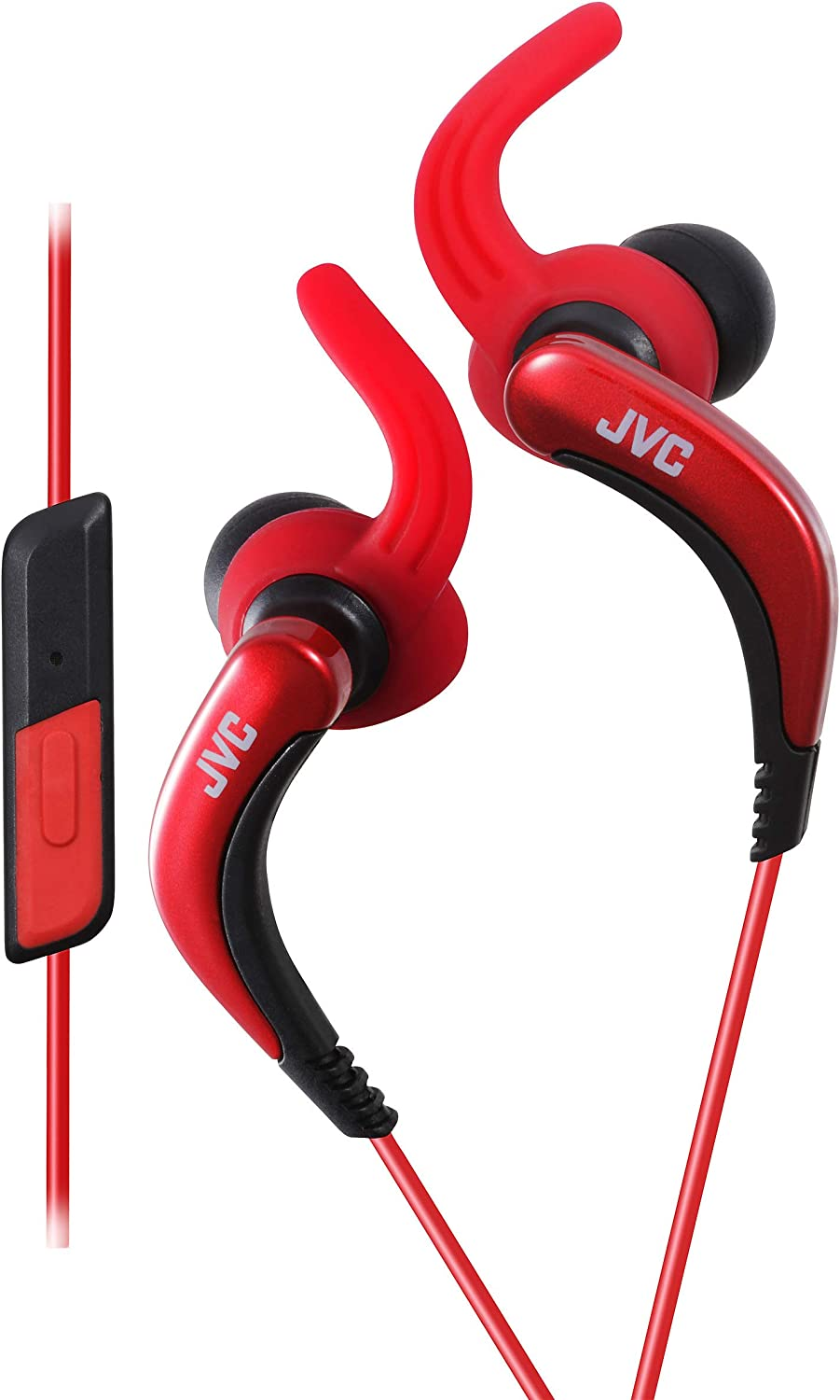 JVC HAETR40R Extreme Red Max 52% OFF Beauty products Fitness Headphones