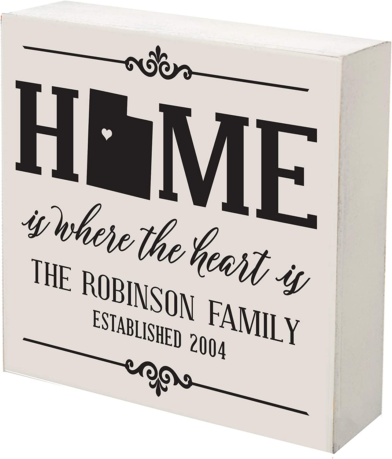 LifeSong Milestones Personalized Utah Shadow Home Rare Max 83% OFF Box State