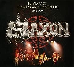 Saxon: 10 Years Of Denim & Leather - Live At Nottingham Rock City 1989
