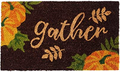 "Rugsmith Multi Machine Tufted Gather Doormat, 18"" x 30"", Brown"