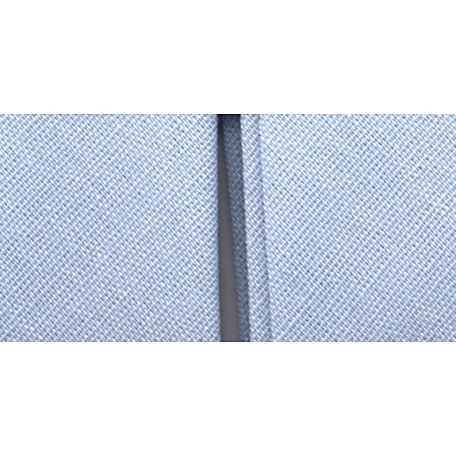 Wrights 117-706-515 Double Fold Quilt Binding Bias Tape, Blue, 3-Yard