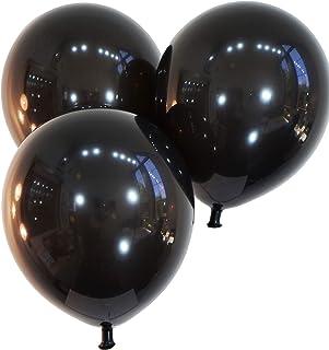 "Creative Balloons Celebrity 9"" Latex, Decorator Midnight Black, 144 Piece"