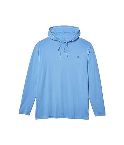 Polo Ralph Lauren Big & Tall Big Tall Cotton Jersey Hooded T-Shirt (Cabana Blue/C7357) Men