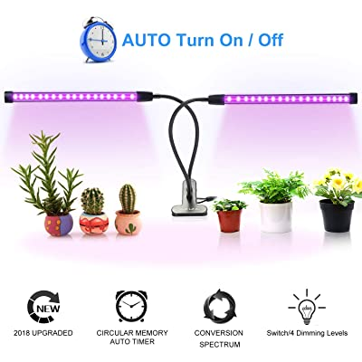 Grow Light for Indoor Plants, 18W 36LED Full Sp...