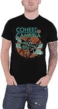 Coheed & Cambria T Shirt Dragonfly Band Logo Official Mens Black