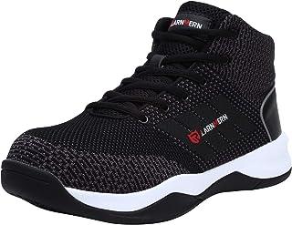 LARNMERN Chaussure de Securité Unisexes, SRC Antidérapantes Basket Securité Chaussures de Travail Chaussures de Protection...