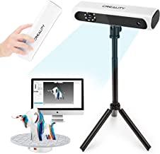 Creality Upgraded CR-Scan 01 3D Scanner Kit with Turntable and Tripod, Handheld & Turntable Dual-Mode, 0.1mm Accuracy, No ...