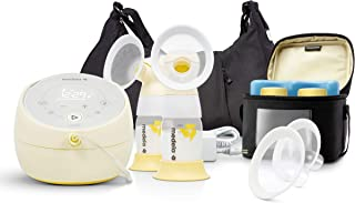 Medela 101037319 Sonata Smart Breast Pump, Hospital Performance Double Electric Breastpump, Rechargeable, Flex Breast Shields, Touch Screen Display, Connects to Mymedela App, Lactation Support
