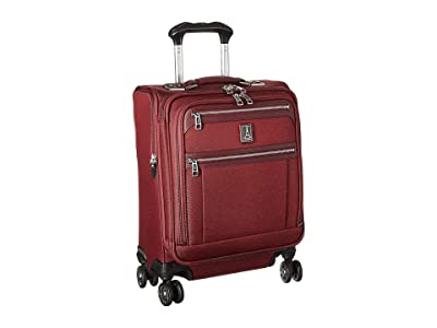 Travelpro Platinum(r) Elite International Expandable Carry-On Spinner (Bordeaux) Luggage