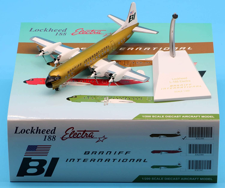 JC Wings 1:200 XX2385 Alloy Ele Lockheed Collectible Price reduction San Jose Mall Plane L188C