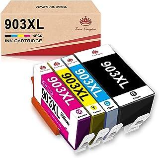 Toner Kingdom 903XL Aggiorna Chip Compatibile con Cartuccia d'inchiostro HP 903 XL 903XL per Stampante HP Officejet Pro 69...