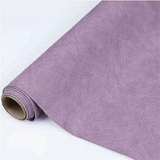 NXFGJ 1mm D'épaisseur Huile Cire Cuir Imitation Cuir Résistant à l'usure Sac Souple Chevet Tissu Canapé Fond Mur en Cuir p...