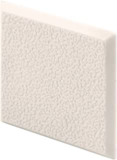 Prime-Line Products MP10867 Wall Protector, 2 in. x 2 in. Squares, Rigid Vinyl, Ivory, Textured, Adhesive-Backed, Paintabl...