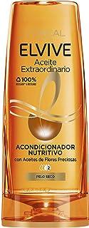 comprar comparacion L'Oréal Paris - Elvive Acondicionador Nutritivo Aceite Extraordinario para Pelo Seco, 300 ml
