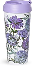 Vera Bradley Women's Thermal Mug Lavender Meadow One Size