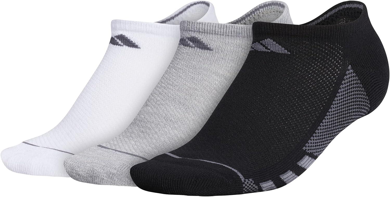 adidas Women's Superlite Stripe No Show Socks (3-Pair)