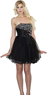 Nox Anabel Nox Dresses Sweetheart Neckline Dress Black Tulle Dress Black Sparkly Prom Dress Homecoming Dress