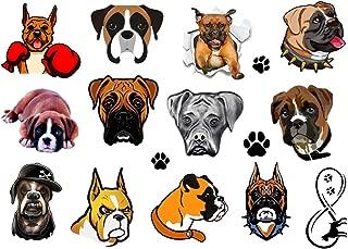boxer dog tattoo