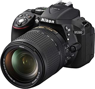 Nikon D5300 18-140mm Kit Lens - 24.2 MP, SLR Camera, Black