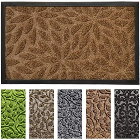 Gbhome Gh 6760a Premium Antibacterial Door Mat 18 X 30 Inches Indoor Outdoor Doormat