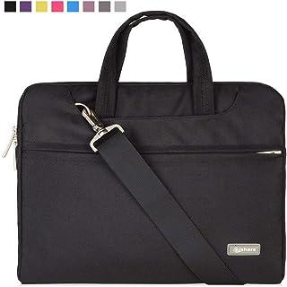Qishare 116-12 Pulgadas Multifuncional portátil Hombro Bolsa maletín portátil de Ordenador portátil Caso Portador de la O...