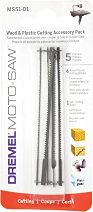 Lâmina de Corte para Madeira e Plástico Dremel MS51 para Moto-Saw, Cinza