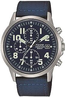 Pulsar Mens Analog Quartz Watch with Nylon bracelet PM3177X1