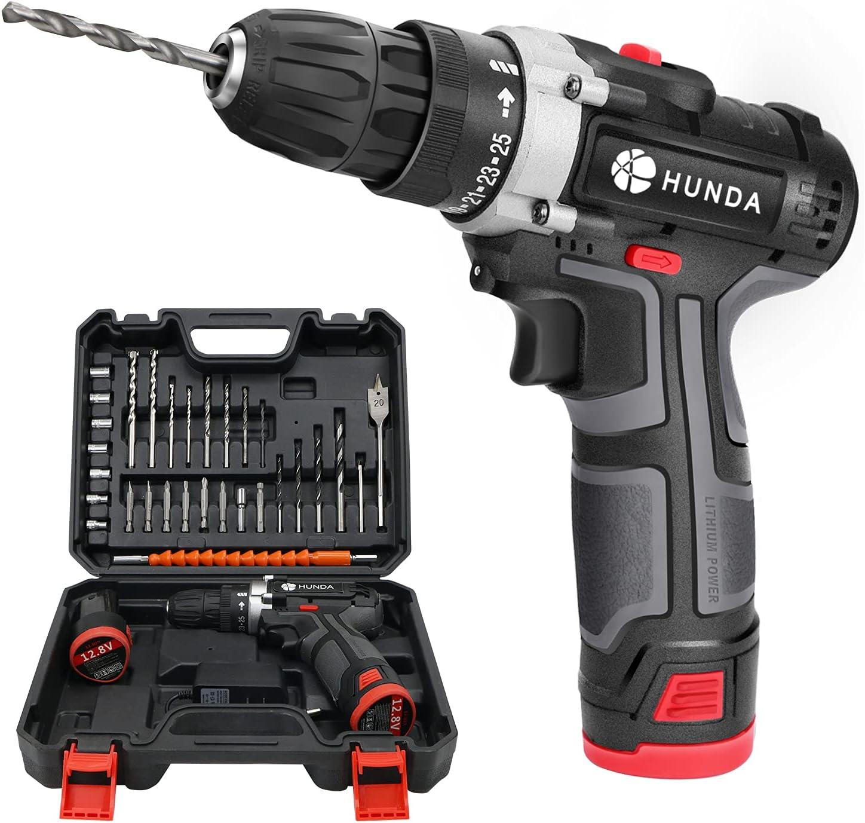 Cordless shop Drill Set 12.8V Industry No. 1 Driver D Power Portable