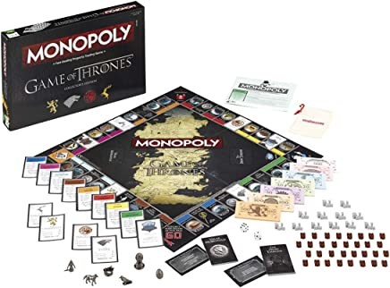 Winning Moves Australia Game of Thrones Monopoly Board Game