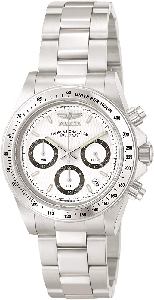 Invicta speedway, orologio,cronografo unisex,in acciaio inossidabile INVICTA-9211