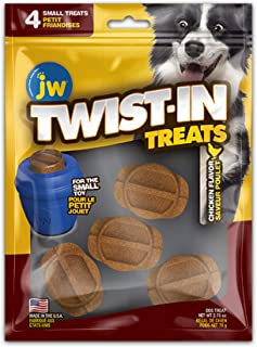 JW Small Refill Treat, Chicken, 4pk