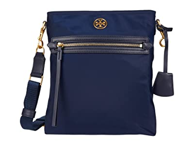 Tory Burch Piper Swingpack (Royal Navy) Handbags
