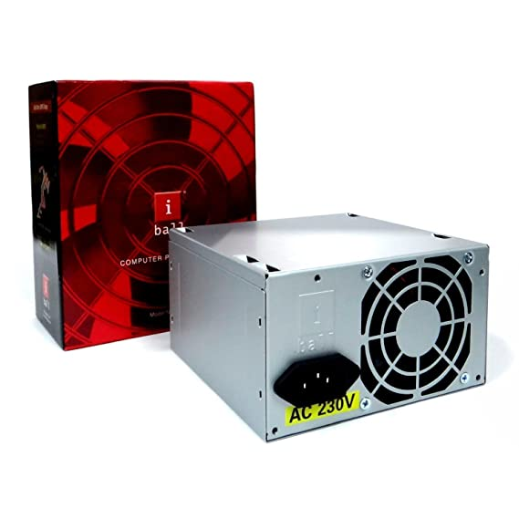 iBall 250W SMPS ATX Computer Power Supply (ZPS-281)