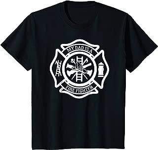 Kids Firefighter T-Shirt - My Dad is a Firefighter Tee