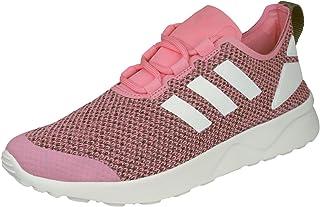 adidas Women's ZX Flux ADV Verve W, Pink/Green/White
