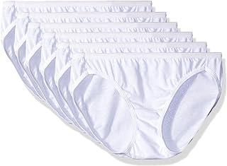 Hanes women's Cotton Bikini Pack of 6 Bikini Panties (pack of 6)