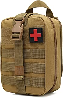 WEDO Tactical MOLLE EMT Medical First Aid IFAK Blowout Pouch, Utility Rip-Away Pouches(Bag Only)