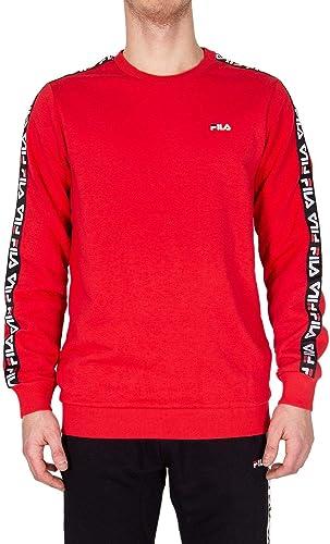 Fila Homme 682363006 Rouge Coton Sweatshirt