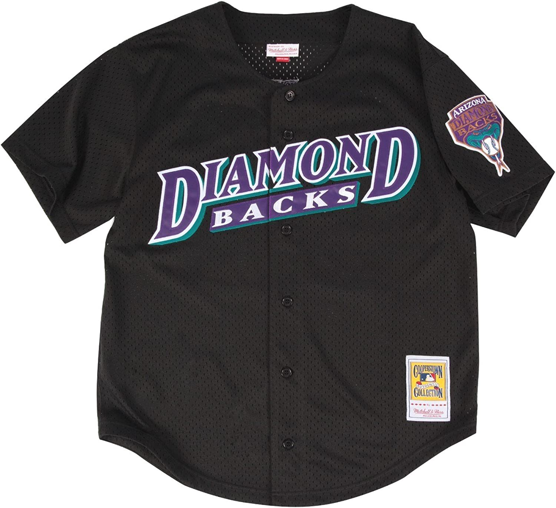 26e7eeed Mesh Authentic Diamondbacks Arizona Johnson Randy Ness & Mitchell ...