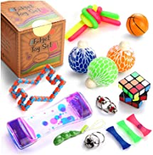 Sensory Fidget Toys Set, 22 Pcs., Stress Relief and Anti-Anxiety Tools Bundle for Kids..
