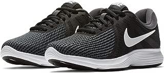 Nike Women's WMNS Revolution 4 Grey/Black/White Running Shoes-3.5 UK (36.5 EU) (6 US) (908999-001)
