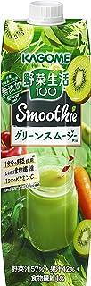 カゴメ 野菜生活100 Smoothie グリーンスムージーMix 1000g ×6本