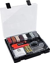 Werkzeyt Tegelreparatieset 14-delig - 8 verschillende tinten - incl. wassmelter, schaaf en schuurspons - Geschikt voor all...