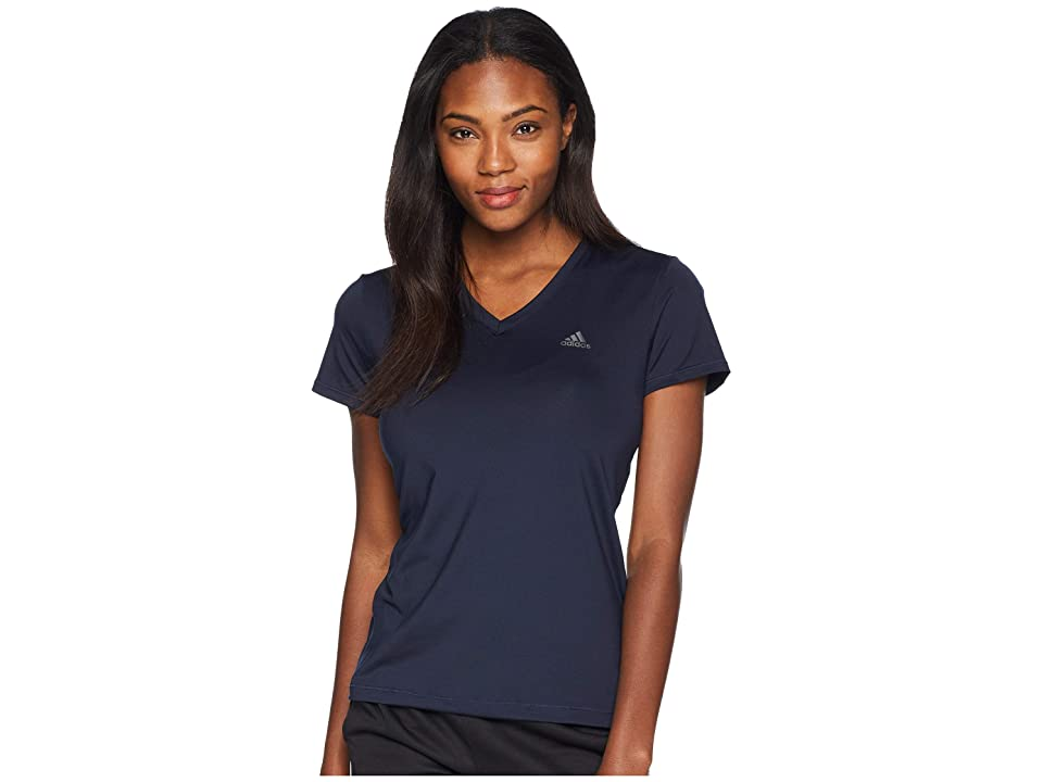 adidas Tech Tee (Legend Ink/Black) Women