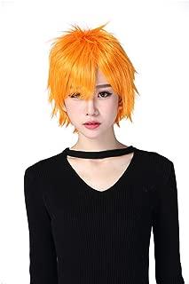 Short Costume Short Orange Party Cosplay Wigs