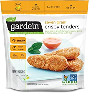 Gardein Seven Grain Crispy Tenders, Meatless Protein Packed Strips, Ready in 8 Minutes, 9..
