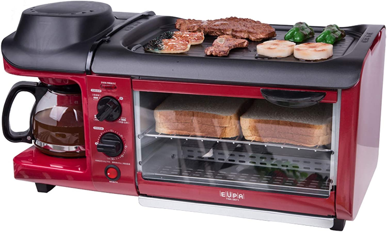 KAUTO Oven Solo Microondas en Silver Tact Premium Convección Halógena Horno Cocina Horno Sartén eléctrica Cafetera Multifunción 3 en 1 Fácil de Limpiar