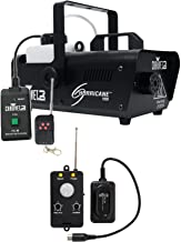 Chauvet DJ H1000 Hurricane 1000 Fog Machine+Remote+Transmitter Motion Sensor